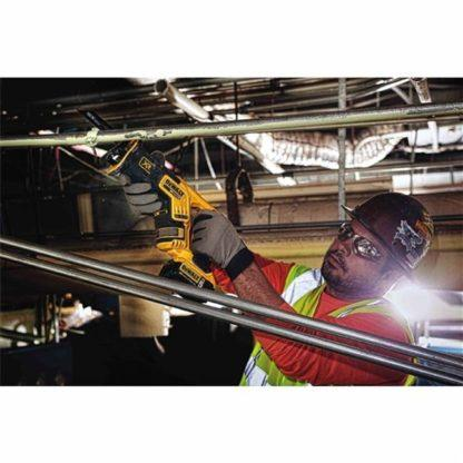 DeWalt DCS367B 20V Max XR Brushless Compact Reciprocating Saw In Use 1