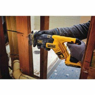 DeWalt DCS367B 20V Max XR Brushless Compact Reciprocating Saw In Use 2