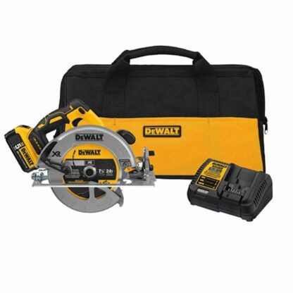 "DeWalt DCS570P1 20V Max 7-1/4"" Brushless Circular Saw Kit"