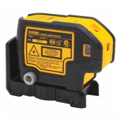 DeWalt DW085K 5-Beam Laser Pointer Kit 2