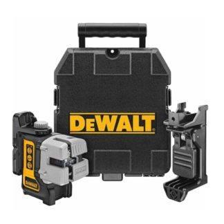 DeWalt DW089K Self-Leveling 3-Beam Line Laser Kit 2