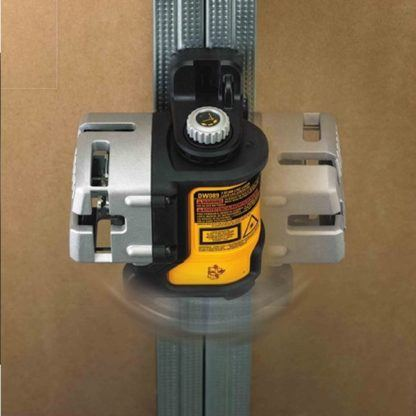 DeWalt DW089K Self-Leveling 3-Beam Line Laser Kit In Use 5