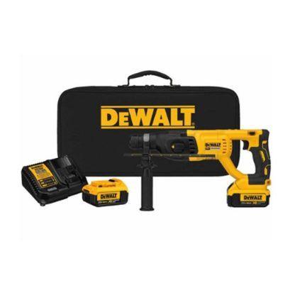 Dewalt DCH133M2 20V Max XR Brushless D-Handle Rotary Hammer Kit 2