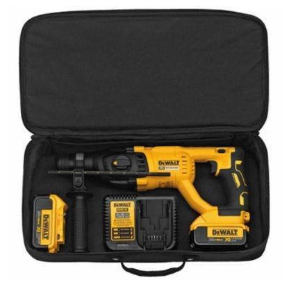 Dewalt DCH133M2 20V Max XR Brushless D-Handle Rotary Hammer Kit 6