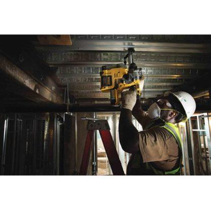 Dewalt DCH273P2DH 20V Max XR Brushless L-Shape SDS Plus Rotary Hammer Kit with On Board Dust Extractor In Use 1
