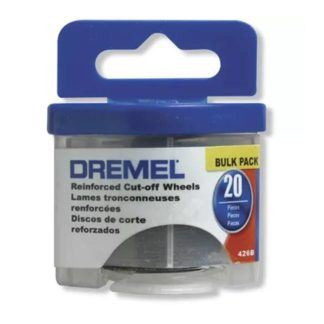 "Dremel 426B 1-1/4"" Fibreglass Reinforced Cut-Off Wheels 20-Pack"
