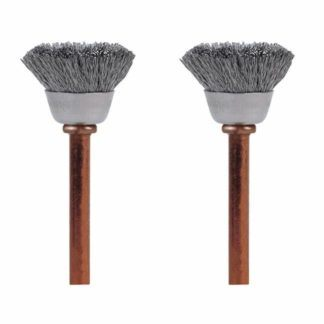 Dremel 531-02 Stainless Steel Brushes 2-Pack
