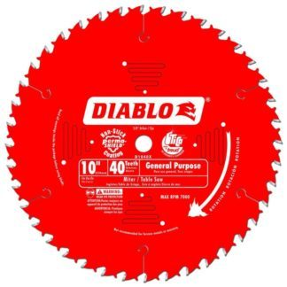 "Freud D1040X 10"" x 40T General Purpose Blade"