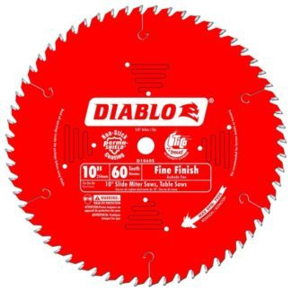"Freud D1060S 10"" x 60T Fine Finish Blade"