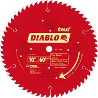 "Freud D1060X 10"" x 60T Fine Finish Blade"