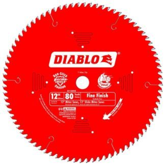 "Freud D1280X 12"" x 80T Fine Finish Blade"