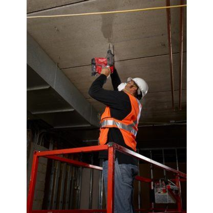 Milwaukee 2715-22HD M18 FUEL SDS Plus Rotary Hammer High Demand Kit In Use 1
