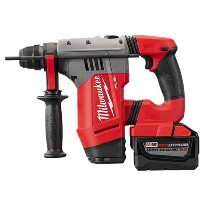 Milwaukee 2715-22HD M18 FUEL SDS Plus Rotary Hammer High Demand Kit Side