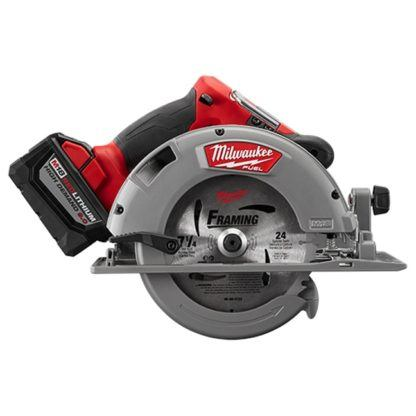Milwaukee 2731-22HD M18 FUEL Circular Saw High Demand Kit Side