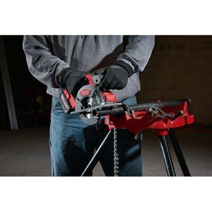 Milwaukee 2782-20 M18 FUEL Metal Cutting Circular Saw In Use 4