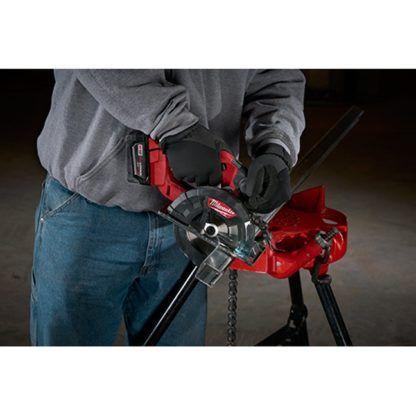 Milwaukee 2782-20 M18 FUEL Metal Cutting Circular Saw In Use 5