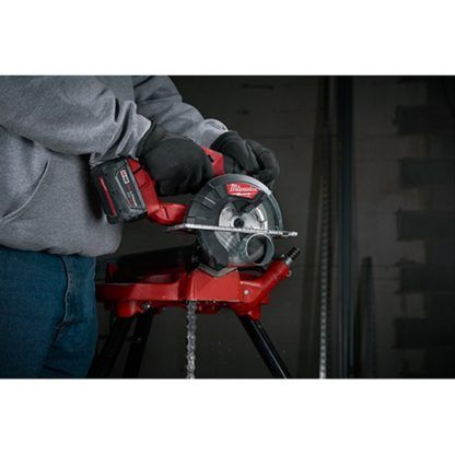 Milwaukee 2782-20 M18 FUEL Metal Cutting Circular Saw In Use 6