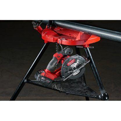 Milwaukee 2782-20 M18 FUEL Metal Cutting Circular Saw In Use 7
