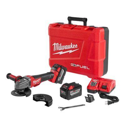 "Milwaukee 2783-22HD M18 FUEL 4-1/2""/5"" Braking Grinder High Demand Kit"