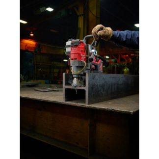 Milwaukee 2787-22HD M18 FUEL Magnetic Drill High Demand Kit In Use 1