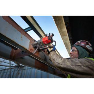 Milwaukee 2787-22HD M18 FUEL Magnetic Drill High Demand Kit In Use 6