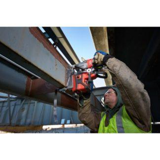 Milwaukee 2787-22HD M18 FUEL Magnetic Drill High Demand Kit In Use 7