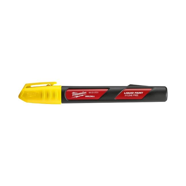 Milwaukee 48-22-3721 INKZALL Yellow Paint Marker