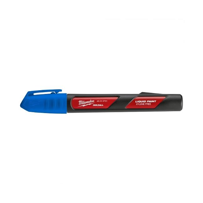 Milwaukee 48-22-3761 INKZALL Blue Paint Marker - 12pk