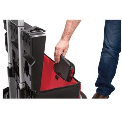 Milwaukee 48-22-8220 Hardtop Rolling Bag In Use 1
