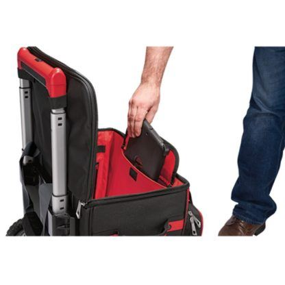Milwaukee 48-22-8221 Jobsite Rolling Bag In Use 1