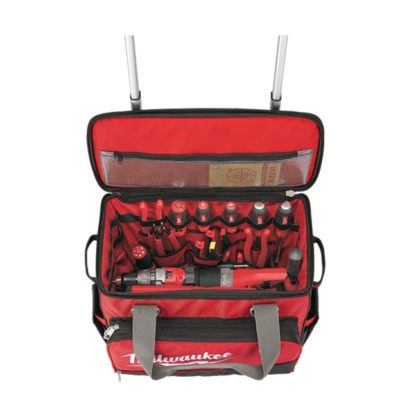 Milwaukee 48-22-8221 Jobsite Rolling Bag Open 2