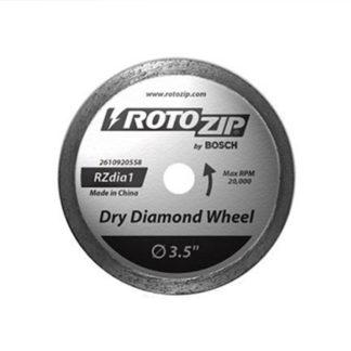 RotoZip RZDIA1 Dry Diamond Zip Wheel
