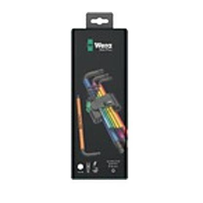 Wera 073593 950 SPKL/9 SM N SB Multicolour L-Key Metric Set