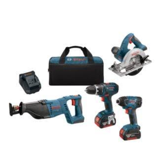 Bosch CLPK430-181 18V 4-Tool Combo Kit