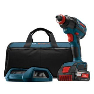 Bosch IDH182WC-101 18V EC Brushless Socket-Ready Impact Driver Wireless Charging Kit