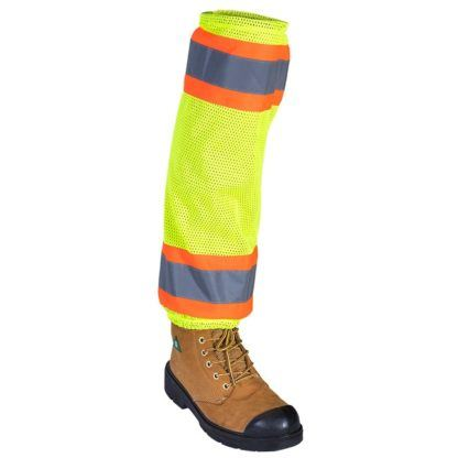 Pioneer 294 Hi-Viz Mesh Gaiter with Reflective Tape