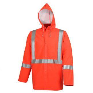 Pioneer 5106 Hi-Viz PVC Rain Jacket