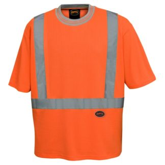 Pioneer 6906 Poly Cotton Drop Needle Hi-Viz T-Shirt
