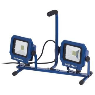 Startech SWL-100T 100 Watt COB Twin Head Work Site Light