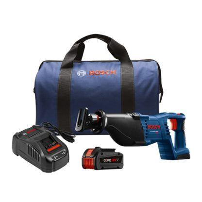 "Bosch CRS180-B14 18V 1-1/8"" Reciprocating Saw Kit"