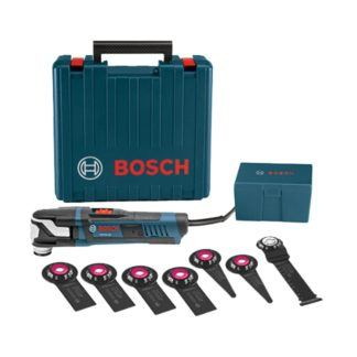 Bosch GOP55-36C1 8PC StarlockMax Oscillating Multi-Tool Kit