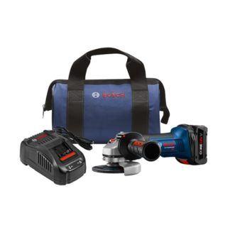 """Bosch GWS18V-45B14 18V 4-1/2"""" Angle Grinder Kit"""