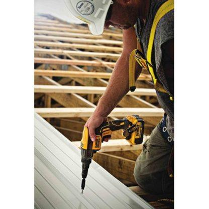 DeWalt DCF622B 20V Max XR Adjustable Torque Screwgun In Use 2