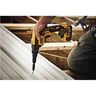 DeWalt DCF622B 20V Max XR Adjustable Torque Screwgun In Use 3