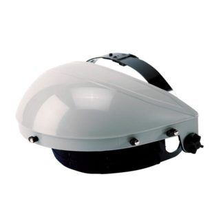 Sellstrom S30100 Single Crown Face Shield with Ratcheting Headgear