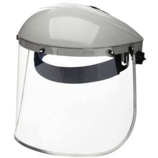 Sellstrom S30110 Single Crown Face Shield with Window & Ratcheting Headgear
