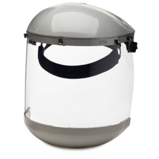 Sellstrom S30310 Dual Crown Face Shield with Window & Ratcheting Headgear
