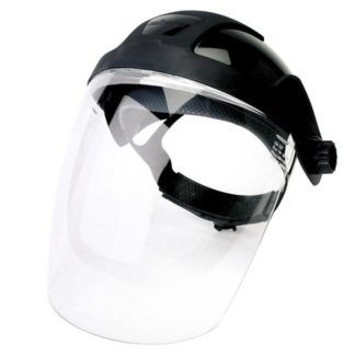 Sellstrom S32010 Standard Face Shield with Ratcheting Headgear