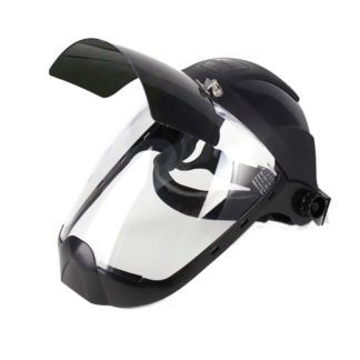 Sellstrom S32281 Face Shield with Flip Up IR Window & Ratcheting Head Gear