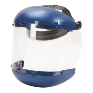Sellstrom S38140 Dual Crown Face Shield with Ratcheting Headgear
